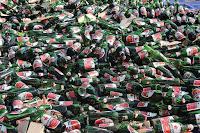 Polres Bima Kota Musnahkan Ribuan Botol Miras dan 20 Ribu Strip Tramadol