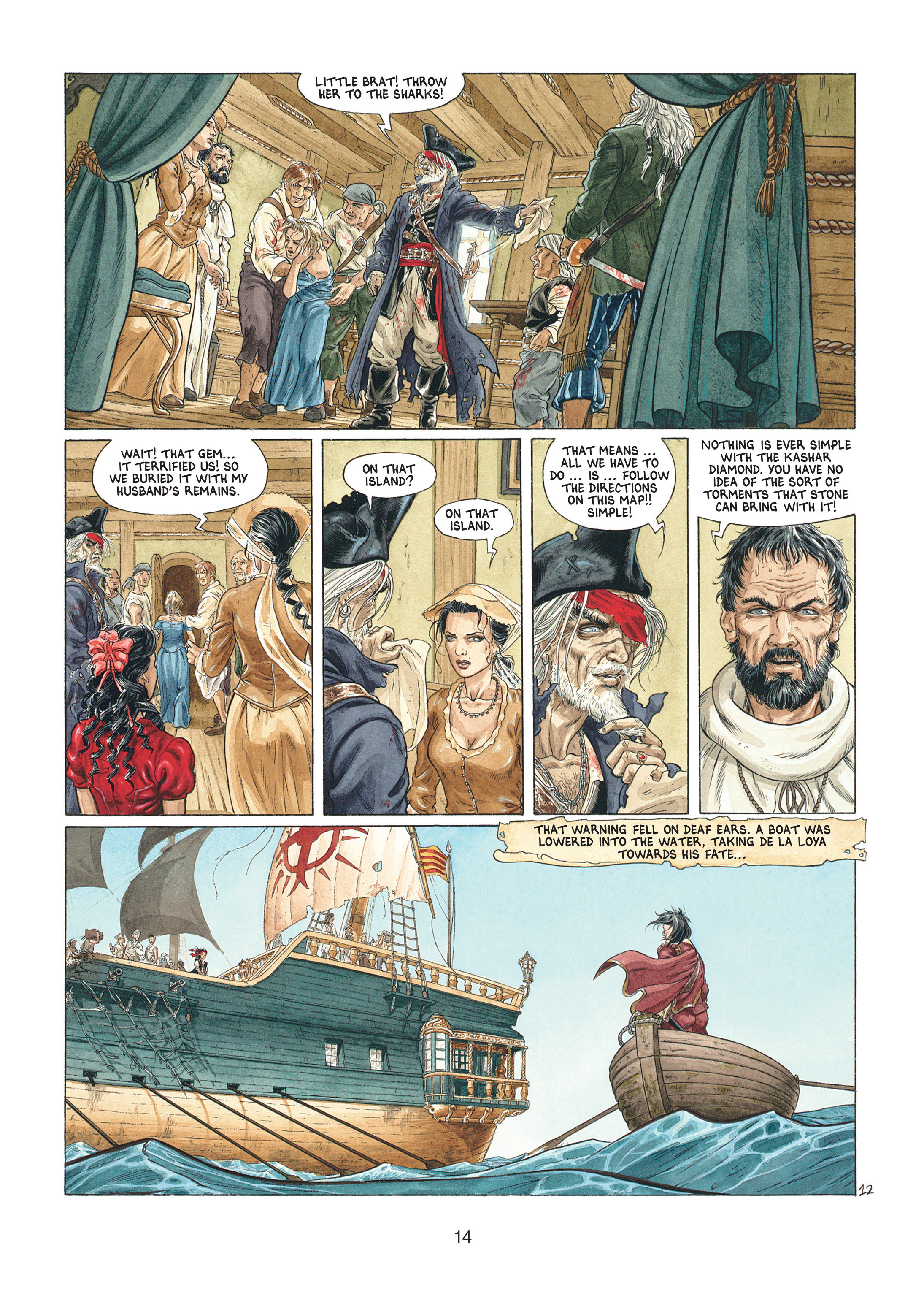 Read online Barracuda comic -  Issue #1 - 14