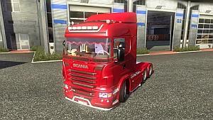 Scania NewR truck + addons