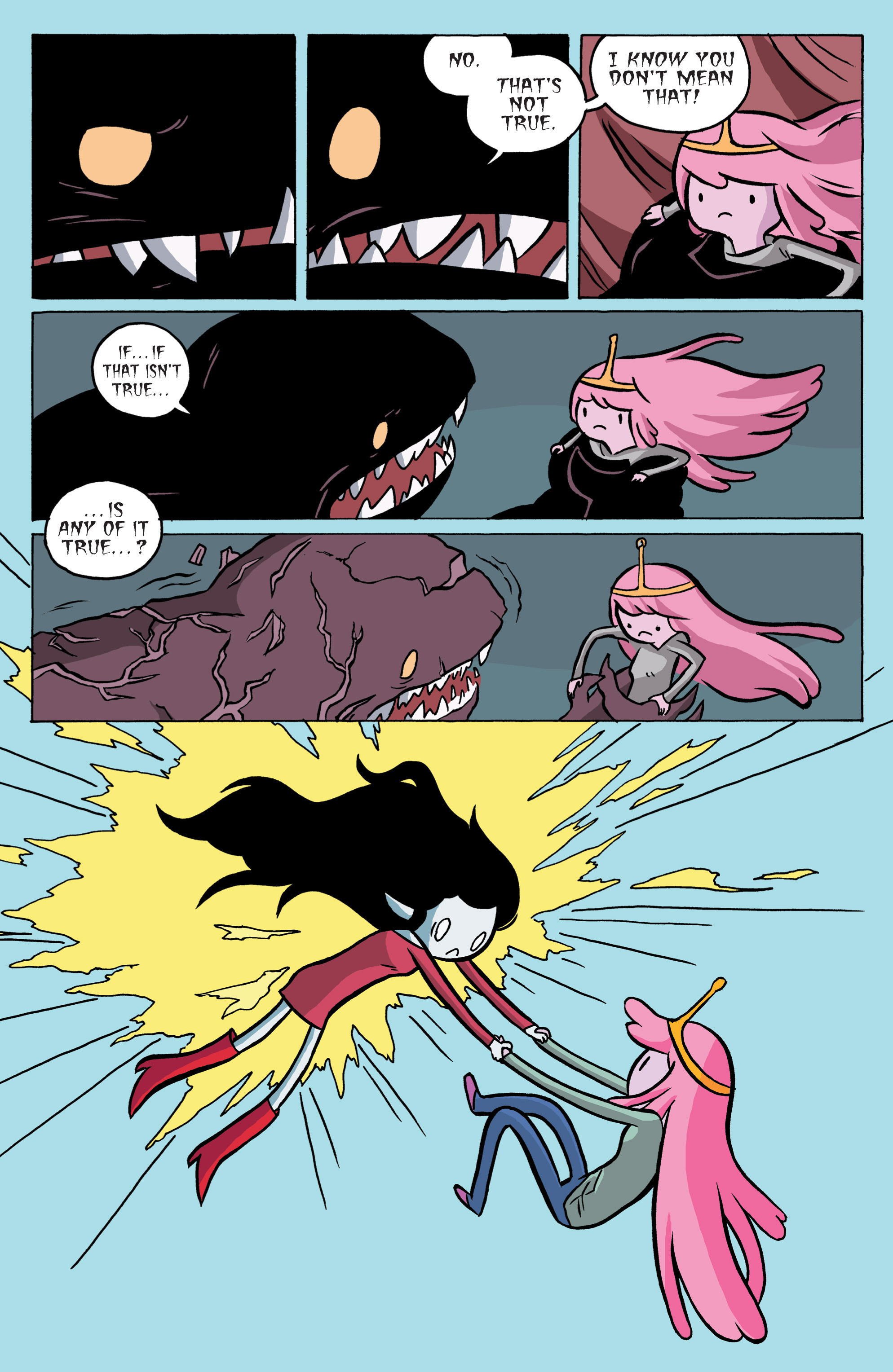 Read online Adventure Time: Marceline and the Scream Queens comic -  Issue #6 - 16