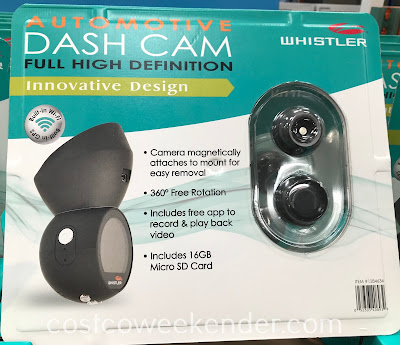 Make sure you're covered in case of an accident with the Whistler Dash Cam
