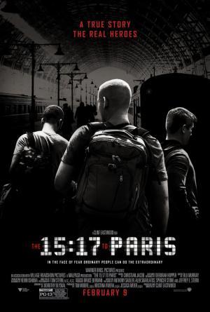 15:17Tren en París (HD 720p, HD 1080p y Español- Inglés, 2018) poster box code