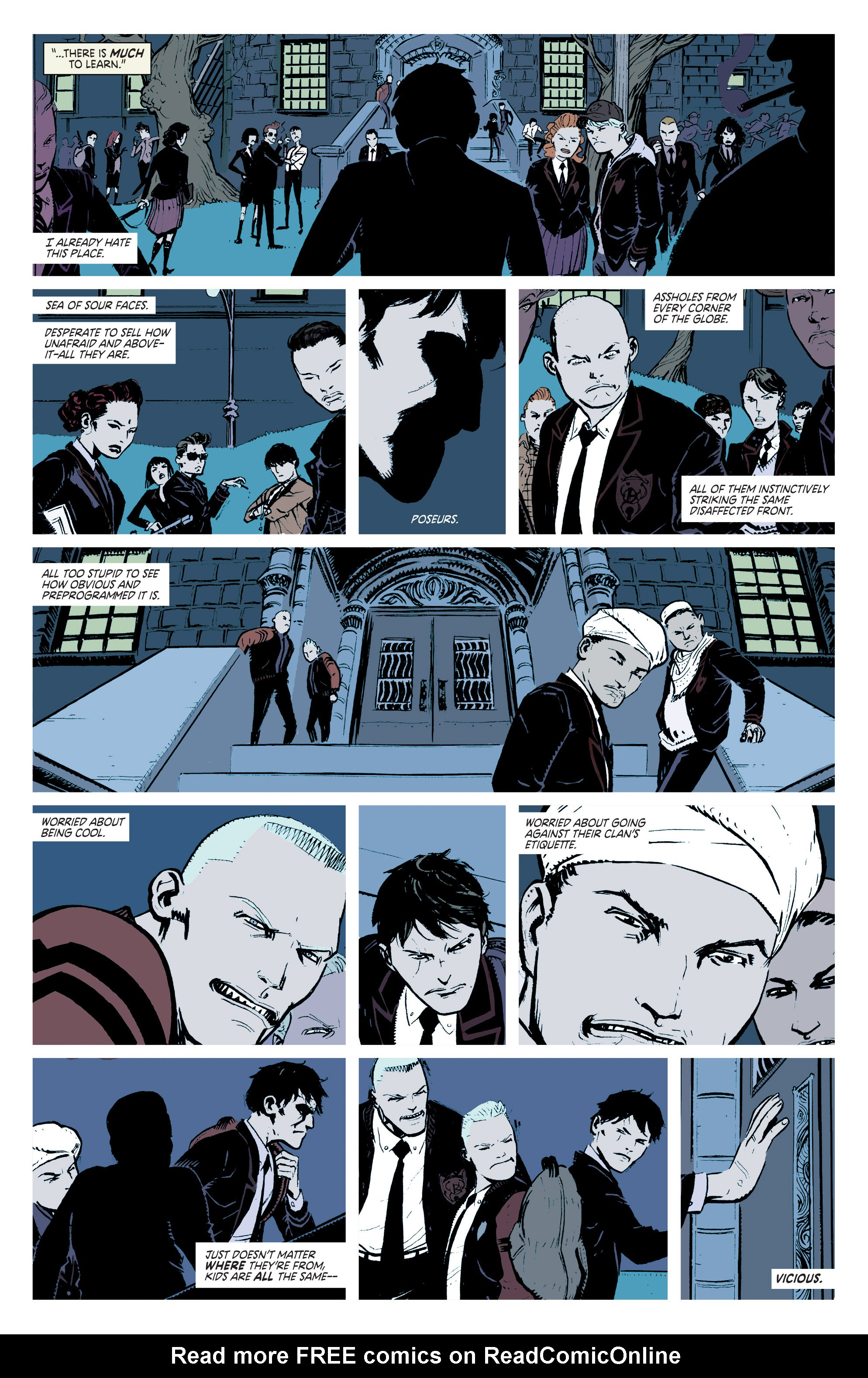 Read online Deadly Class comic -  Issue #2 - 6
