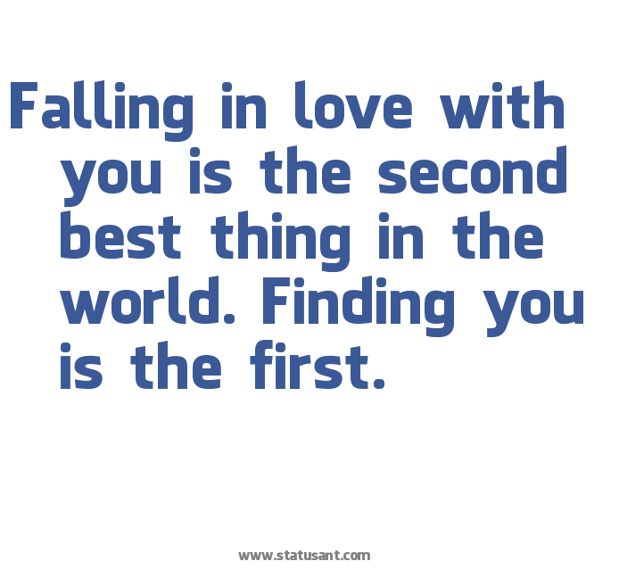 Falling in love status for whatsapp whatsapp status quotes for Best love pic in the world