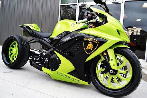 Suzuki Gsx R1000 Custom Lambo Bike