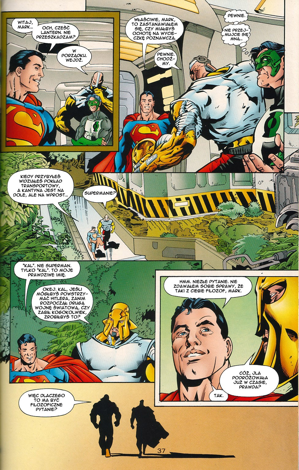Read online JLA Superpower comic -  Issue # Full - 37