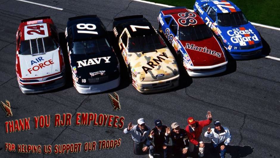 1991 Racing Champions NASCAR Air Force Marines Coast Guard Navy Army Kulwicki