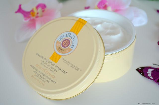 Roger&Gallet - baume - baume pour le corps - soin pour le corps - soin raffermissant - soin hydratant - soyeux - peau douce - peau hydratée