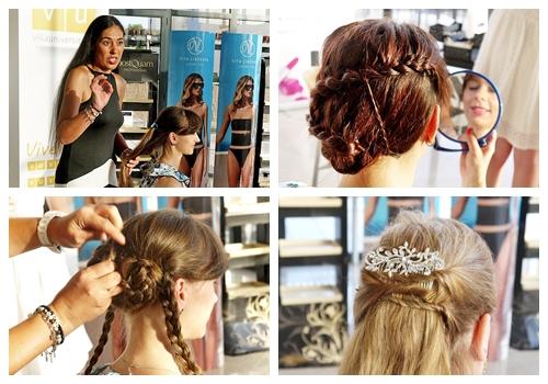 peinados de princesa a las asistentes primera merienda blogger alicante