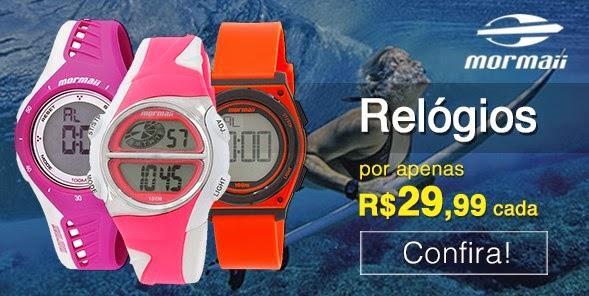 Sou Barato - Relógios Mormaii por R 29,99 e32d207166