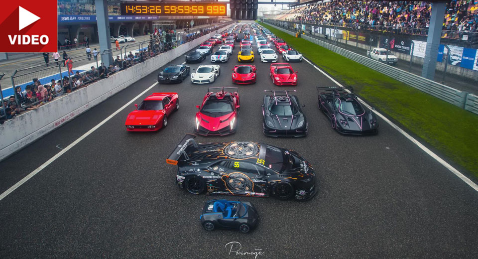 Over Hypercars Gather For Epic Display At Shanghai S Circuit