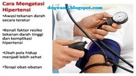 Mengobati Penyakit Tekanan Darah Tinggi Secara Alami