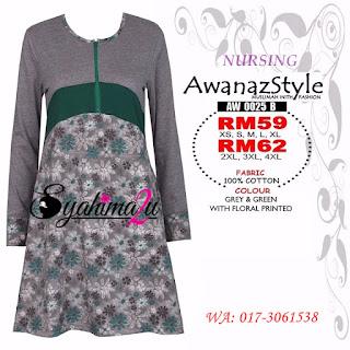T-Shirt-Muslimah-Awanazstyle-AW0025B