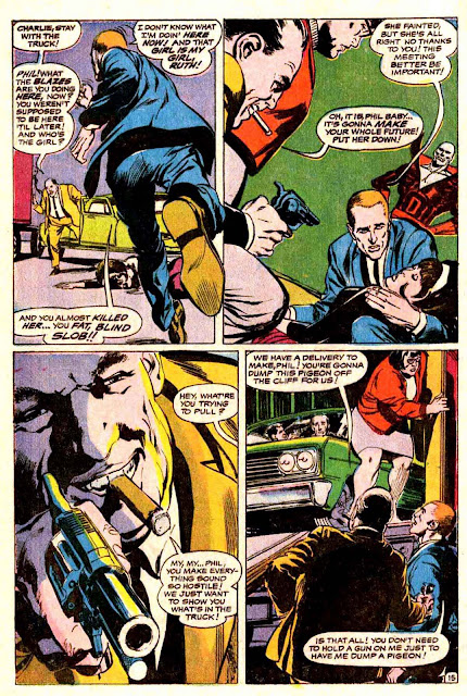 Strange Adventures v1 #212 dc 1960s silver age comic book page art by Neal Adams