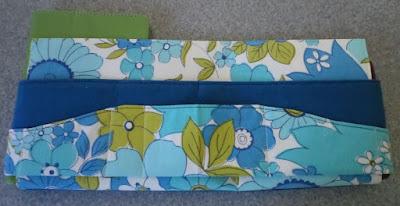 Wave Around Tote Bag Organizer by eSheep Designs