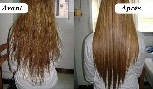 Eclaircir ses cheveux avec du miel avant apres