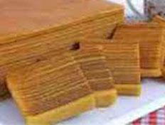 Resep praktis (mudah) kue engkak ketan lapis spesial (istimewa) khas Palembang enak, legit