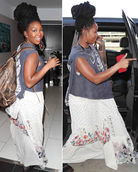 Pregnant who is by brandy 'RHOD' star