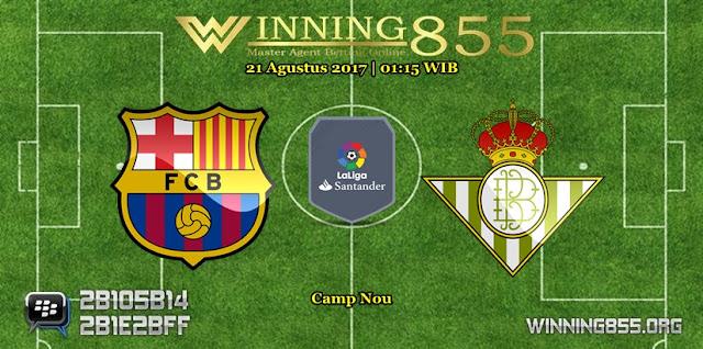 Prediksi Skor Barcelona vs Real Betis