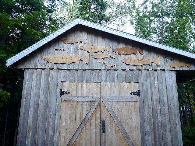 Claude Bernard's shed, Bonaventure, Gaspé