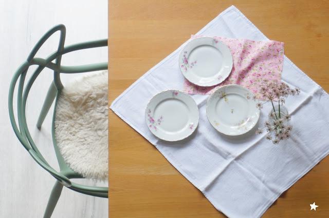 assiettes anciennes vaisselle chinée