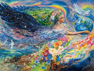 картина художницы Жозефины Уолл