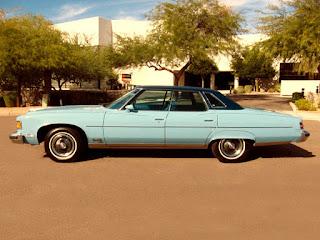 1975 Pontiac Grand Ville Side Left