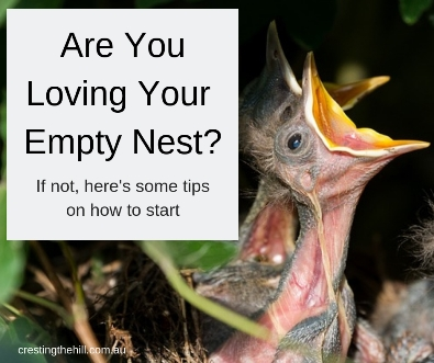 Rather than worrying about the kids leaving home - here are some ways to rediscover yourself after they've flown. #midlife #emptynest
