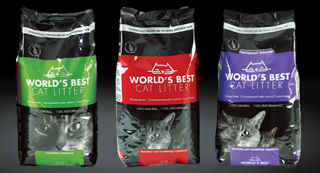 Worlds Best Cat Litter 3 Varieties