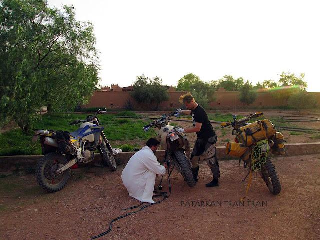 DRZ400. Trail Forever por el Atlas Marroquí. Dia 4