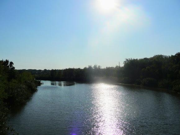 Константиновка. Река Кривой Торец