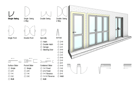 Revit Add-Ons: Door Factory Premium for Revit