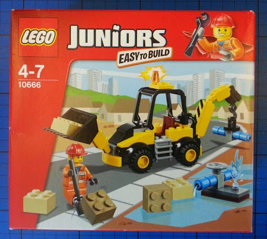 The LEGO Juniors Digger set 10666