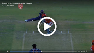 MS Dhoni's awesome save wicket keeping vs KXIP