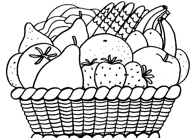 Recetas Ensalada De Frutas Para Colorear Imagui