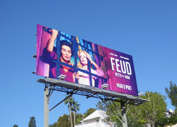 Feud series premiere billboard