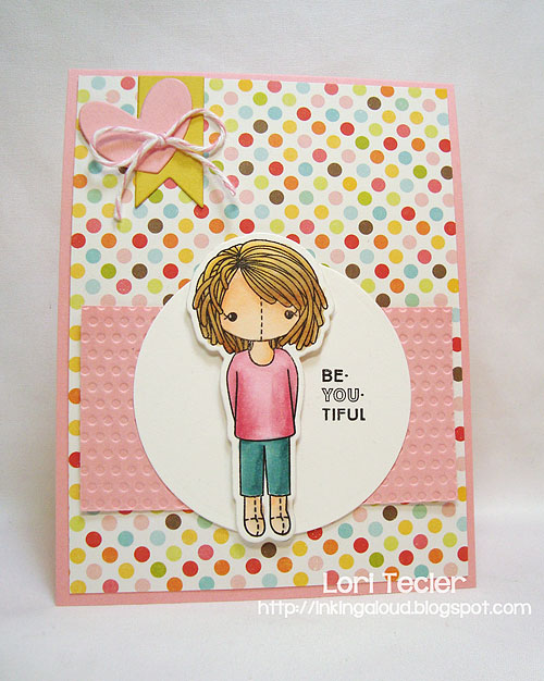 Be-YOU-Tiful-designed by Lori Tecler-Inking Aloud-stamps and dies from Clear and Simple Stamps