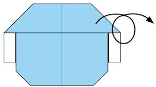Bước 9: Lật mặt đằng sau ra đằng trước