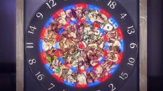 Gra w rzutki w organy człowieka to jedna z gier przedstawionych w Death Parade