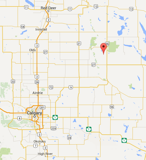 The View From Here: Rowley, Alberta
