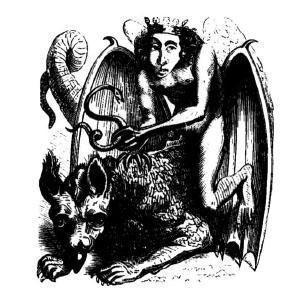 Goetia - Astaroth (Illustration)