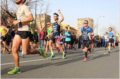 maraton sevilla pitufollow sergio correr corredor