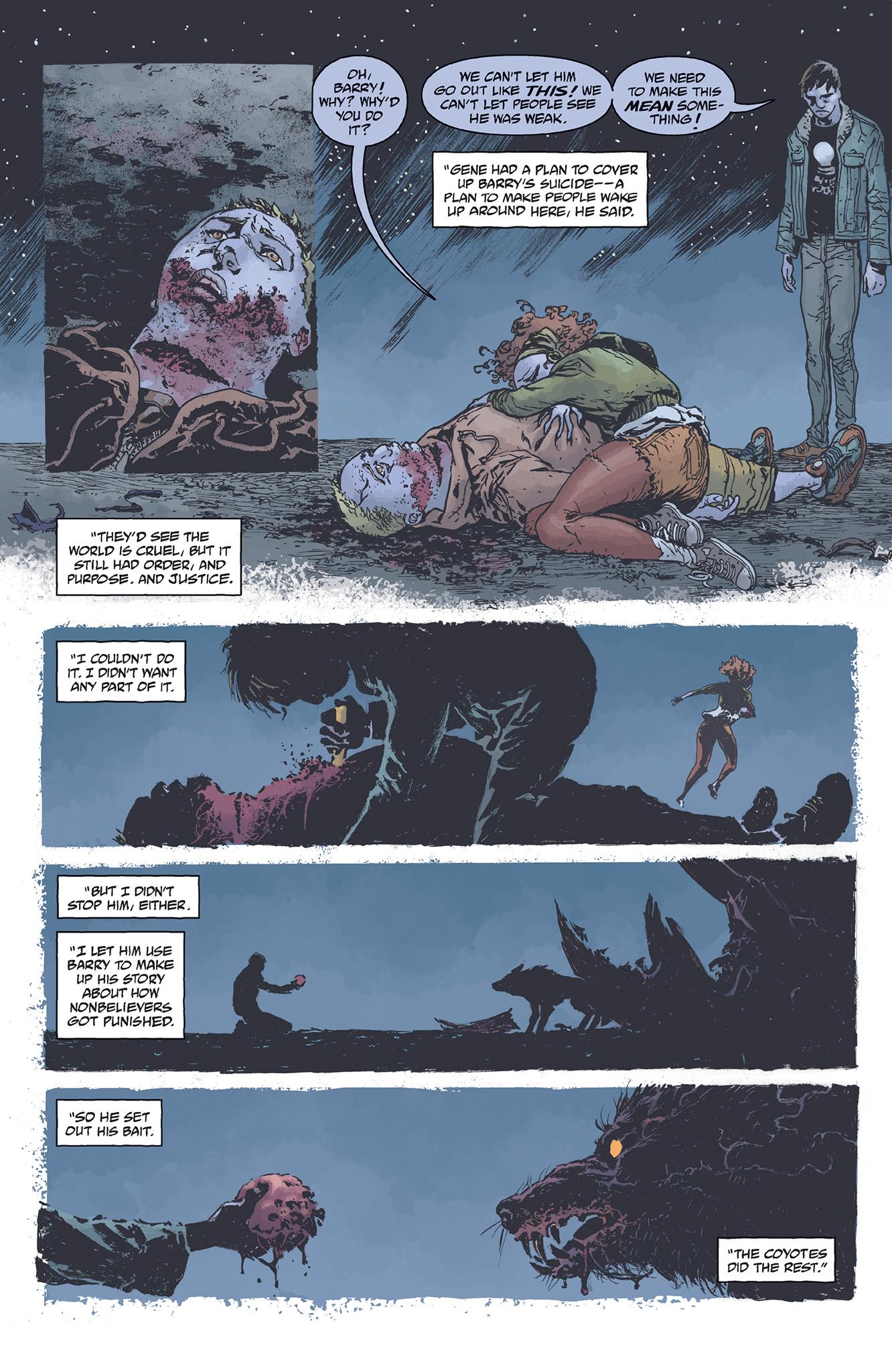 Read online Abe Sapien comic -  Issue #5 - 20