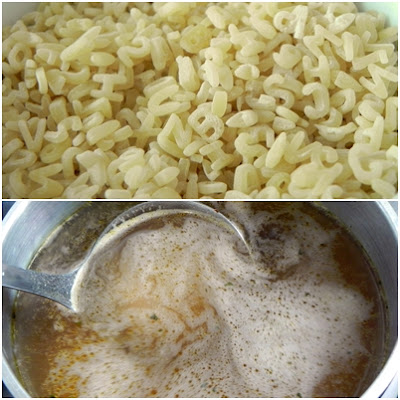 receita de risotto de macarrão