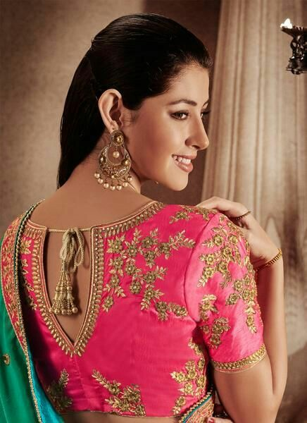 20 latest blouse back designs for bridal sarees bling sparkle