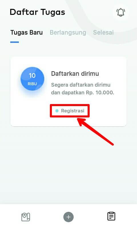 """silahkan mendaftar / membuat akun dengan cara memilih """"Registrasi"""" dan lengkapi nomor Handphone pada kolom yang telah disediakan dan pilih """"Mulai"""" lalu lakukan Verifikasi dengan cara memasukkan kode yang telah dikirim melalui sms. Jika sudah pilih """"Verifikasi""""."""