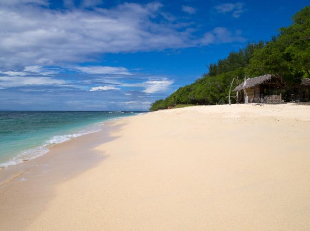 daftar 10 pantai terbaik di indonesia - Pantai Gili Meno, Lombok