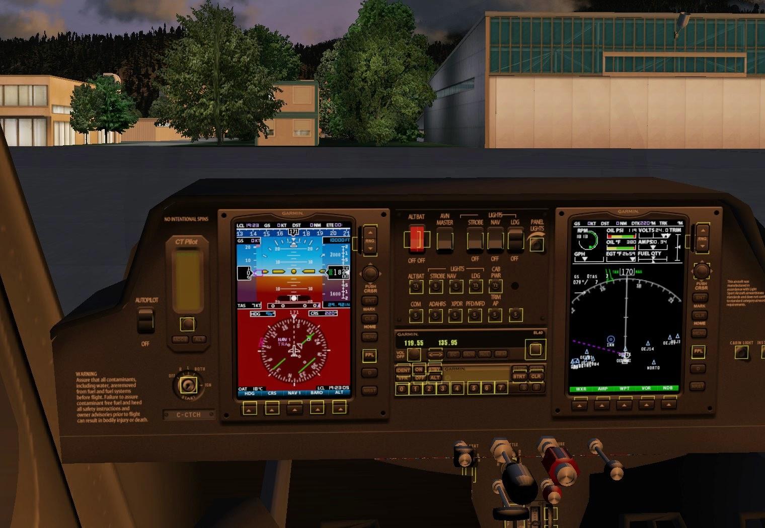 South West Flight Simulation: C162 Skycatcher for X-Plane