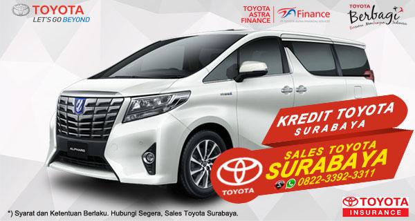 Promo DP Ringan, Paket Kredit Toyota Alphard Hybrid Surabaya