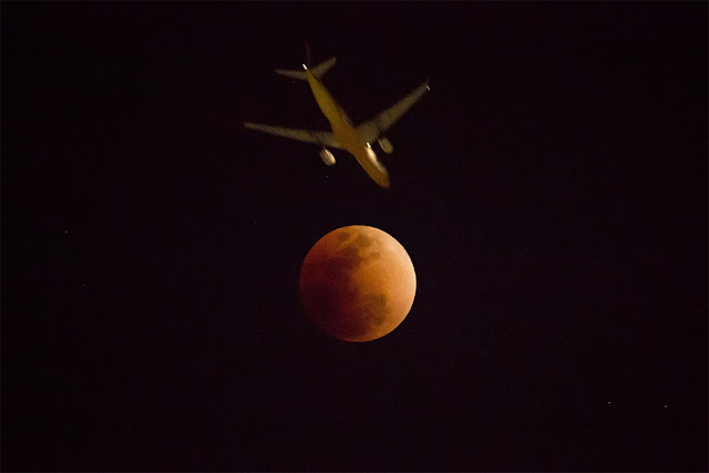 Eclipse Lunar Total de 31 de janeiro de 2018 - Hong Kong, Kin Cheung